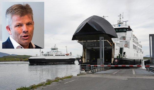 Bjørnar Skjæran (innfelt) har sammen med partileder Jonas Gahr Støre skrevet om deres forslag om å redusere fergeprisene.