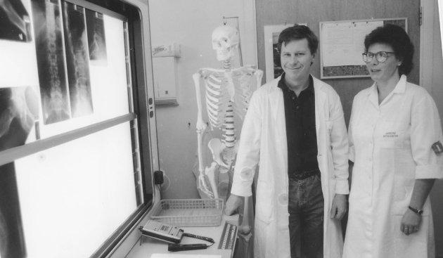 Askim sykehus var først i landet med digital røntgen den 19.10.1990.