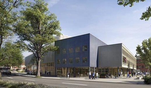 Klarsignal: Med ja fra regjeringen, er finansieringen av opera- og kulturhus på plass. Ill.:C.F. Möller