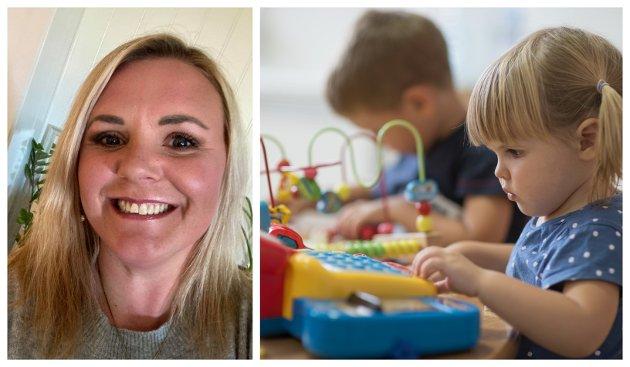 ADVARER: Jeanette Møller (til venstre) bekymrer seg over barn i barnehagene.