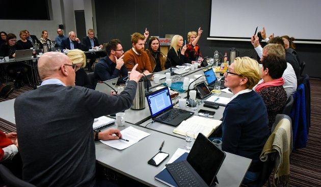 Styremøte i Helgalandssykehuset. sak 115 Helgelandssykehuset 2025. Avstemming
