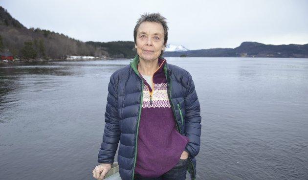 Kristin Sørheim (Sp) leder Samferdselsutvalget i Møre og Romsdal fylke.
