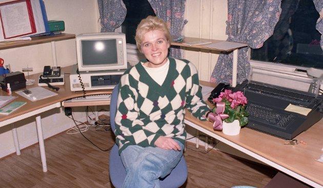 Inger Lise Pettersen fikk juleglede for kjempegod ledelse og innsats av Krisesenteret for Kristiansund og Nordmøre.