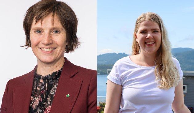 Senterpartiet-politikarane Kjersti Toppe og Sara Hamre Sekkingstad svarar på vindkraftmotstandarane sitt brev.