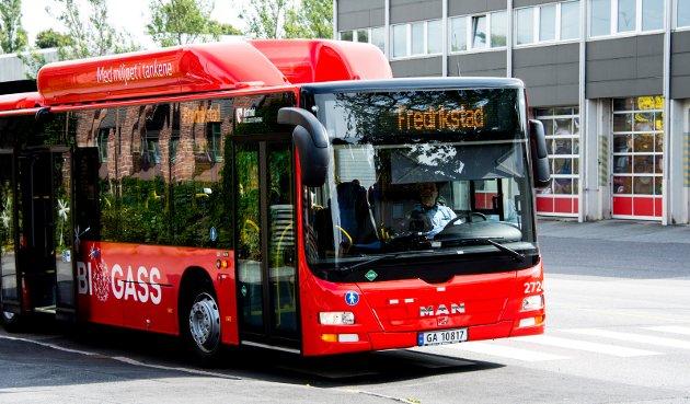 Anbefales: Bussjåfør er en populær og sikker jobb.