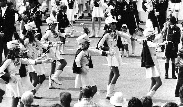 Råde skolekorps, juli 1983.