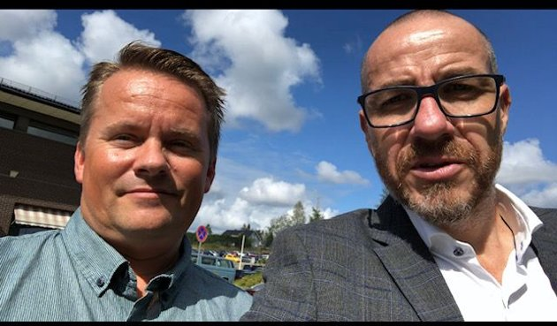 Ordfører Tom Staahle & Ståle Lien Hansen