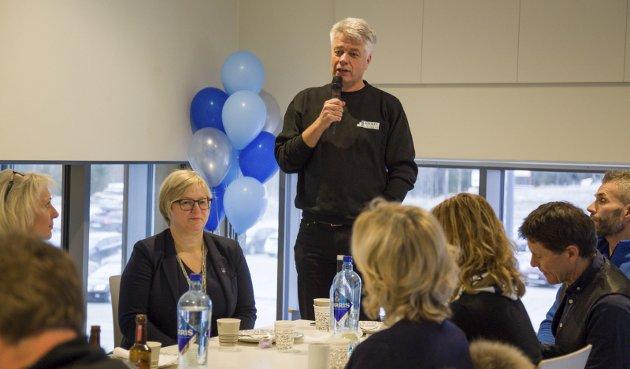 GLADMELDING: Daglig leder Ola Mæhlum i Røyken Eiendomsutvikling AS.