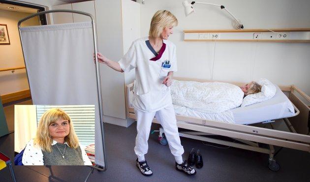 LILLEHAMMER: Sektor helse kan ansette flere helsefagarbeidere. De kan utføre langt flere oppgaver enn de gjør i dag, skriver .Gunn Hilde Anundskås i Fagforbundet.