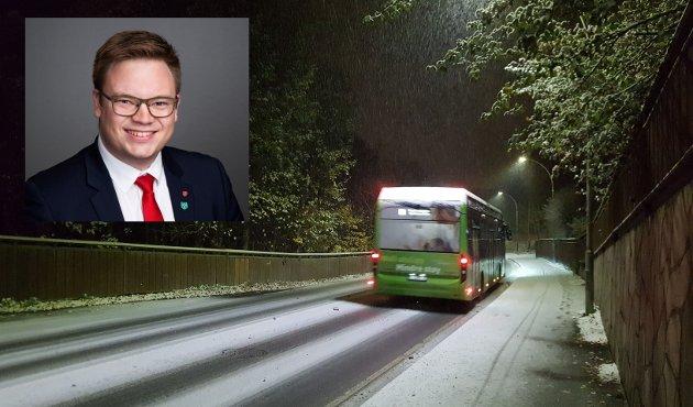 TRAFIKKSIKKERHET: Statistikken viser at litt under en tredjedel av ulykkene skjedde i vintersesongen, skriver fylkesordfører Even Aleksander Hagen (Ap).
