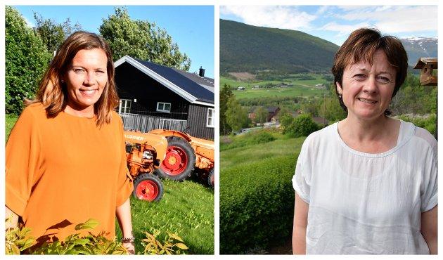 SAMARBEID: Vi kjem lengre ved å arbeide vidare for eit positivt samarbeid i regionen, skriv Edel Kveen og Mariann Skotte, ordførar, Skjåk og Lesja (Sp).