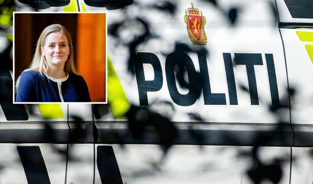 POLITI: At regjeringen vil ha nærpoliti i bobil blir på grensen til komisk. Det er respektløst å forvente at folk rundt om i Norges land skal være fornøyd med en bobil som svinger innom fra tid til annen, i stedet for det lokale politiet regjeringen har tatt fra dem, skriver Emilie Enger Mehl, stortingsrepresentant (Sp).
