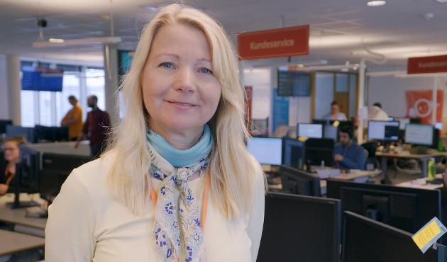 Jeanne Tjomsland, kommunikasjonsdirektør i Fjordkraft