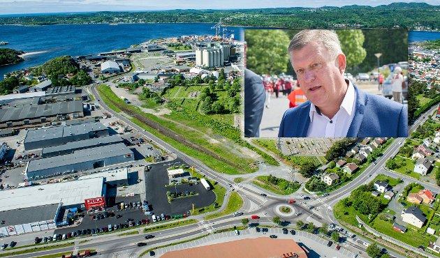 TRANSPORTØR: Ragnar Blomquist mener det er høyst usikkert hvor mange som vil benytte en terminal på Sika-tomta.