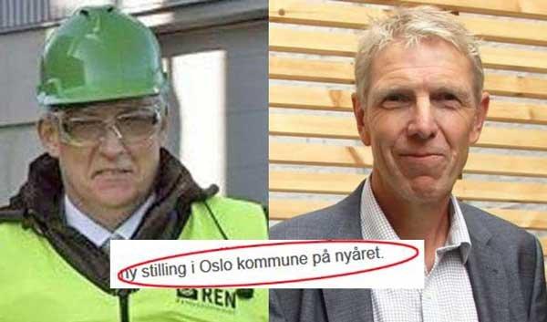 GIKK AV: Både direktør Pål Sommernes i Renovasjonsetaten (t.v) og Boligbygg-direktør Jon Carlsen gikk av, og fikk umiddelbart tilbud om ny stilling i kommunen.