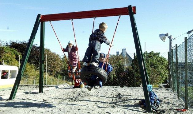 I barnehagen: Hvorfor er det viktig for barna at ansatte har barnehagelærerutdanning, spør Anja Rørset og Bjarnhild Ulriksborg. illustrasjonsfoto