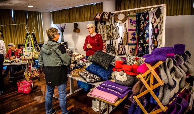 Lions kulturdager ble åpnet på lørdag med kunst- og håndverksmessse i Ås kulturhus