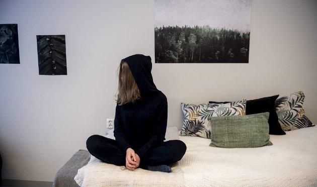 I helgen fortalte BA historien om 17-åringen som siden i fjor høst har vært innlagt på Haukeland. I dette innlegget forteller hun selv hvor vanskelig hun opplever det for folk å forstå sykdommen hennes. Foto: Kai Flatekvål