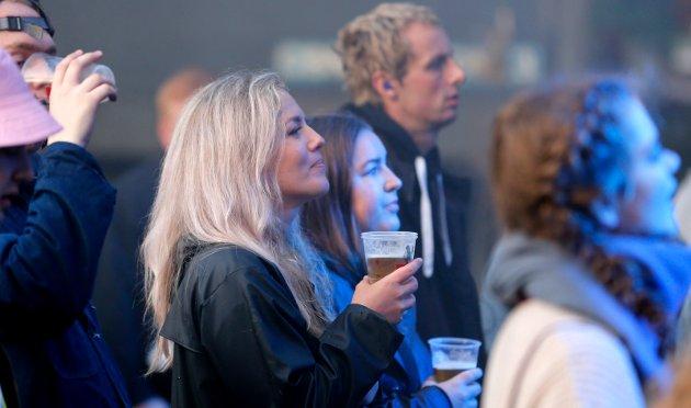 DEN GANG I VANGEN: Festivalpublikum på Rossmann-konserten i 2018.