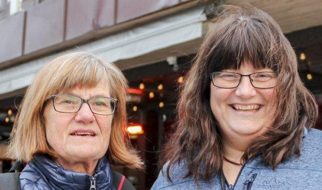 Jorun og Renate Haugli: – Vi har ingen planer om å handle på Black Friday. Det er nok en ganske hektisk dag, med kø og masse folk.