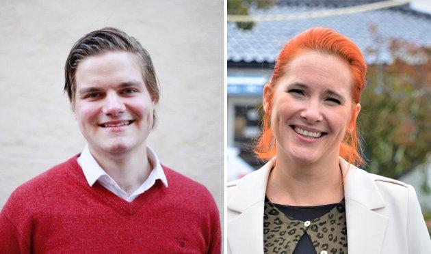 Tobias Drevland Lund  og Charlotte Therkelsen Sætersdal, Rødt