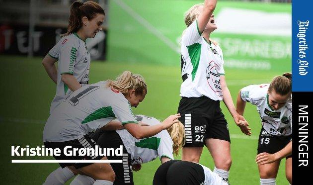INVESTERING: - Å satse på idretten er en av de viktigste investeringene kommunen kan gjøre, skriver Kristine Grønlund.