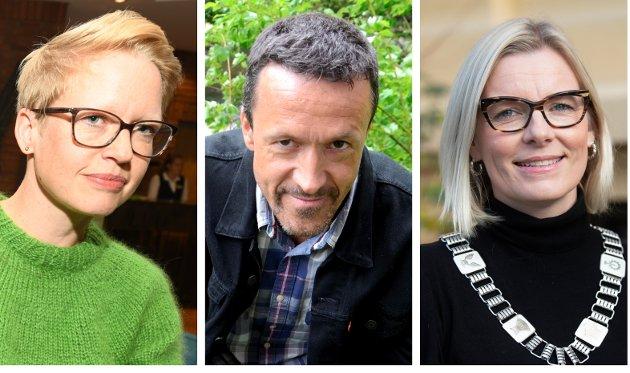 NY TRIO: Tre nye ordførere, f.v. Anette Musdalslien (Sp) Gausdal, Jon Halvor Midtmageli (Sp) Øyer og Ingunn Trosholmen (Ap) Lillehammer skal samarbeide. Det bør være grunn til å stille høye forventninger.
