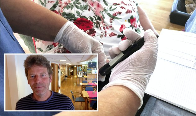 HELSE: Jeg snakket med en pårørende av en pasient i hjemmetjenesten i går. Han fortalte om besøk av en utenlandsk sjukepleier som ikke kunne norsk, kun engelsk. Hun var sikkert en utmerket sjukepleier, men uten mulighet til å snakke med pasientene, skriver Øyvin Aamodt (Rødt Lillehammer).