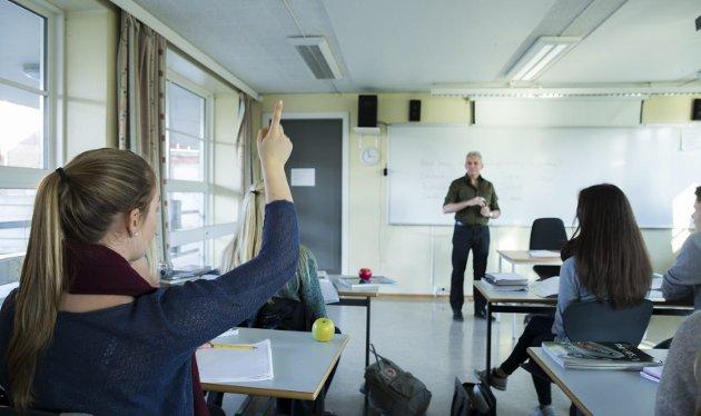 Utdanning: Skal vi få nok lærere på sikt, må akkurat du søke lærerutdanning og ikke minst ta lærerutdanningen her i Nordland. Illustrasjonsfoto