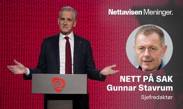 I SPAGAT: Jonas Gahr Støre kan bli statsminister, men trenger støtte fra tre partier som vil gjeninnføre arveavgiften.