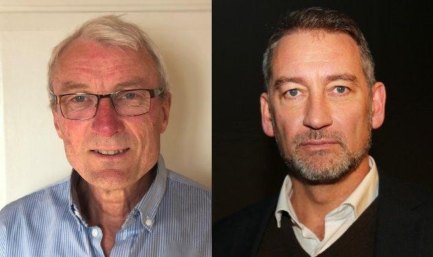 Alf Ivar Klinge (t.v.) og Pål Christian Bergstrøm i Bufetat Nord skriver om barnevernsreform og lokalpolitisk ansvar.