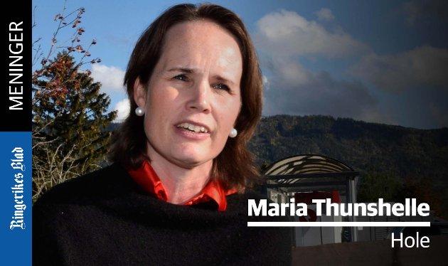 FEIL: – Det er gledelig å lese at kommunedirektøren endelig innrømmer til formannskapet at feil er begått i denne anskaffelsesprosessen, skriver Maria Thunshelle.