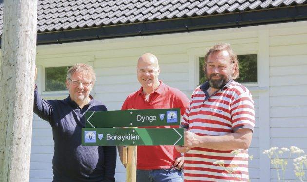 I tre år har Gunder Christophersen, Ole Jonas Kverndal og Terje Helberg jobbet med å rense gjengrodde stier på Borøya. I dette innlegget skriver Terje Helberg om viktigheten av Tilskuddsportalen.