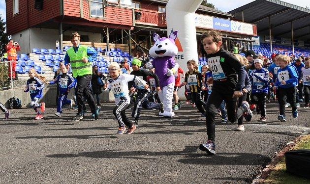 Rett vest 2016. Maraton. spenst-løpet, florø turn og idrettsforening