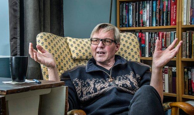 Jan Ove Ekeberg (65) gir i disse dager ut sin tredje bok i vikingserien «Den siste vikingkongen». De to første har til nå et samlet opplag i Norge på 60.000 bøker.
