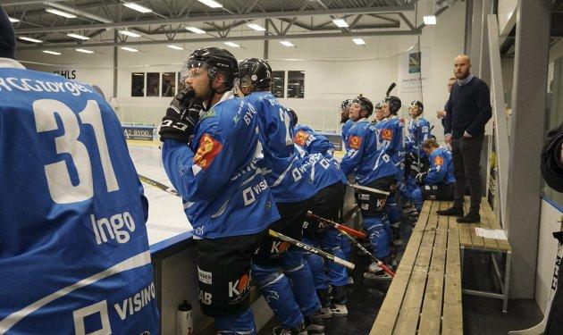 FEM ELLER SEKS POENG? Tar hockeygutta poeng i begge kampene mot Hasle Løren, og seier etter ordnær tid i minst en av disse, så vil Arctic Eagles ha god heng på topplagene etter jul. Foto: Karlsen