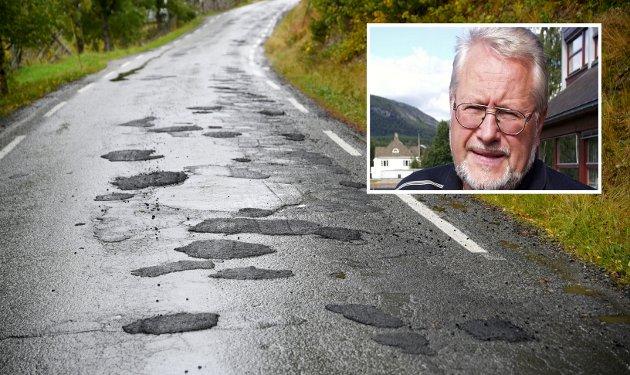 VEG: «Mer penger til administrasjon, betyr mindre til asfalt». Jeg trur dessverre at dette blir realiteten for oss som skal bruke vegene, i både Innlandet og ellers i Norge, skriver Gunnar Tore Stenseng.