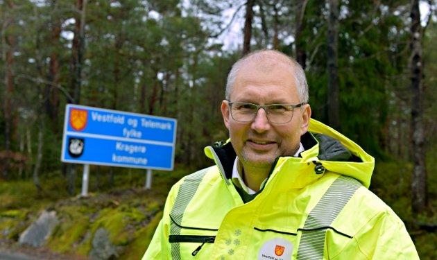 Fylkesordfører Terje Riis-Johansen har skrevet om veipakka.