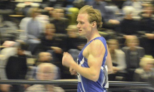 I form: Carl Emil Kåshagen skal løpe NM i dag.