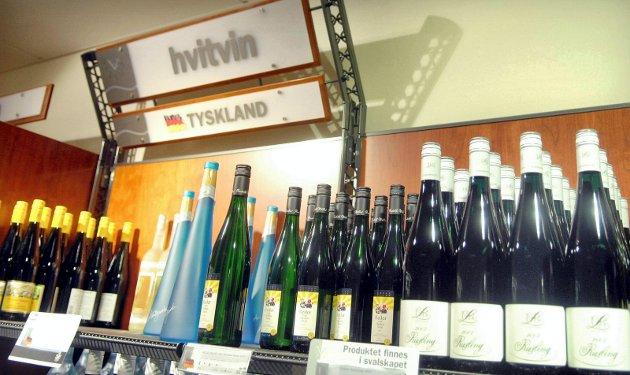 Vinmonopolet, polet, vin