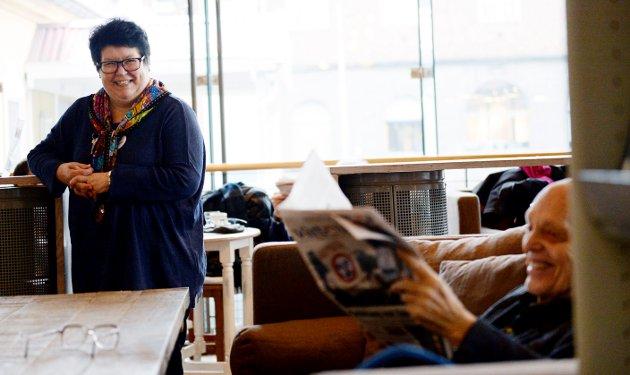 FOR ALLE: Vi ser at der bibliotekene får anstendige driftsbudsjett, der er folk stolte av biblioteket, og de bruker det. Der det satses på bibliotek, blir det resultater, skriver Tone Moseid på Tønsberg og Nøtterøy bibliotek.