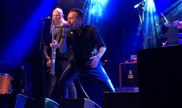 KONSERT: Bergensbandet Audrey Horne spilte på Energimølla på Kristi Himmelfartsdag.