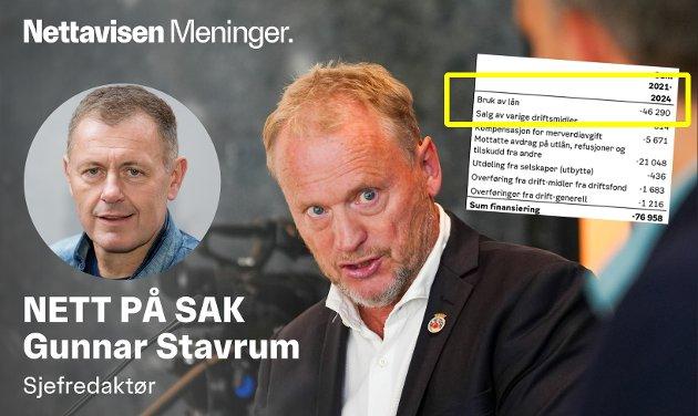 MILLIARDGJELD: Byrådsleder Raymond Johansen og det rødgrønne byrådet vil ta opp 46 milliarder kroner i lån de neste årene.