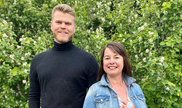 Even Aronsen og Irene Dahl er stortingskandidater for Venstre i Troms.