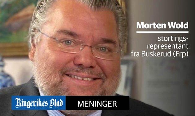 STYRKE: - Det er mulig å bruke vår finansielle styrke til å betale inn bompengegjelden som tynger norske bilister, og rammer dem med dårligst råd, skriver Morten Wold.
