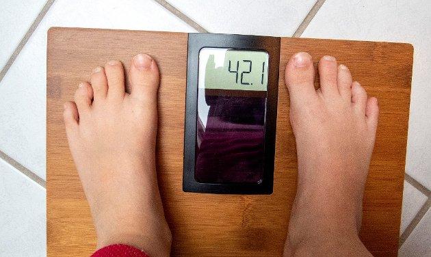 Evig kamp: Jeg ble alltid fortalt hvor tjukk og feit jeg var, så da var jeg vell det, skriver innsenderen som tar opp hvordan hun og andre må kjempe for ikke å bli fanget i spiseforstyrrelsens vold. Illustrasjonsfoto: NTB scanpix. Foto: Gorm Kallestad