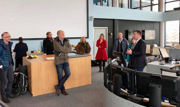 Senterpartiet, med Trygve Slagsvold Vedum i front, fikk en grundig gjennomgang av Hovedrednigssentralens arbeid i Bodø 7.februar