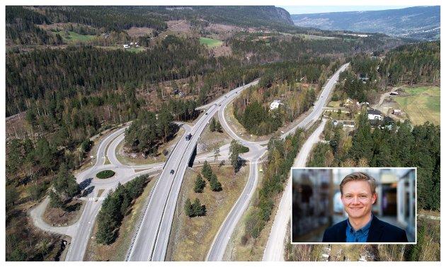 Anders Brabrand (Ap) mener det er fare for at dette distriktet priorieteres ned dersom ambisjonene for ny E6 senkes slik Sp-politikere har tatt til orde for.