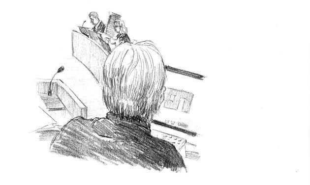 TEGNETIME: Oppgaven Rune Breili hadde i retten onsdag, var å overbevise, kanskje spesielt meddommerne, om at de sentrale tegningene i saken umulig kan være verdt 50.000 kroner.