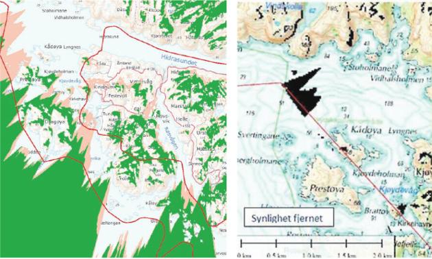 YTRING: Jukser Norsk Vind Skorveheia AS med synligheten av vindturbinene?